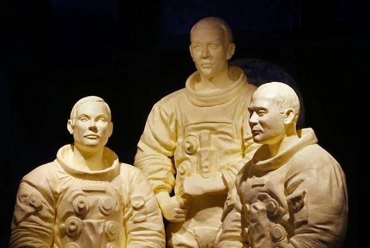butter-sculpture
