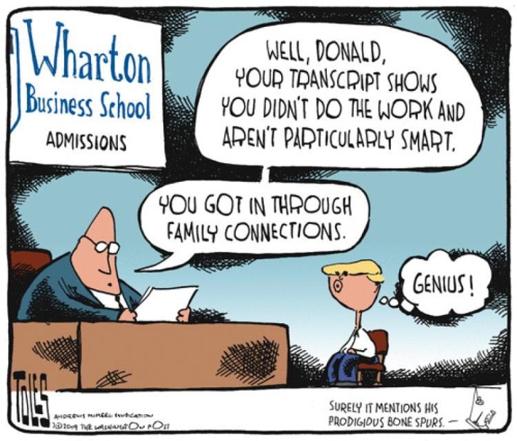 Trump-school