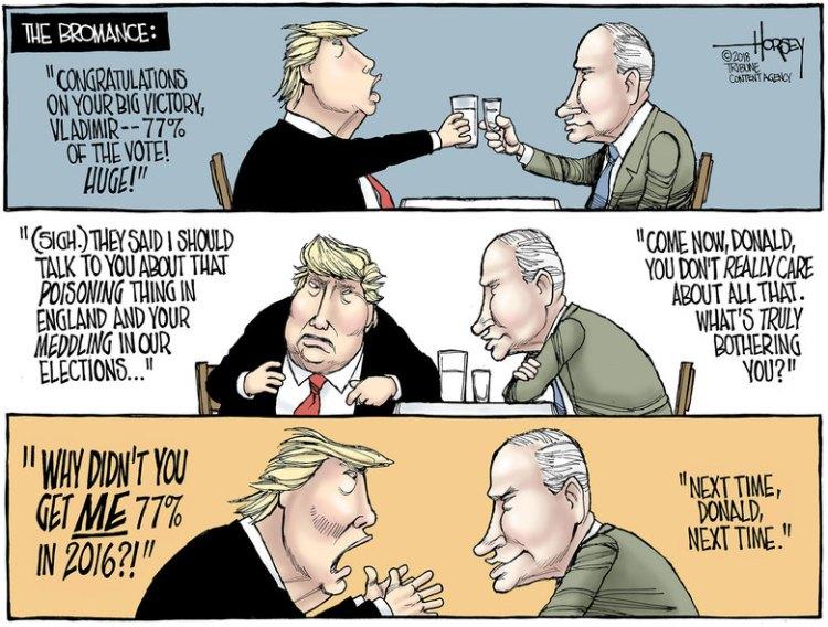 Trump-Putin-toon