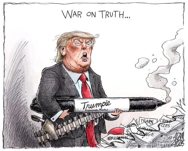 Trumpie propaganda marker