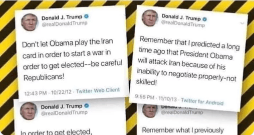 Trump-Iran-Obama-tweets