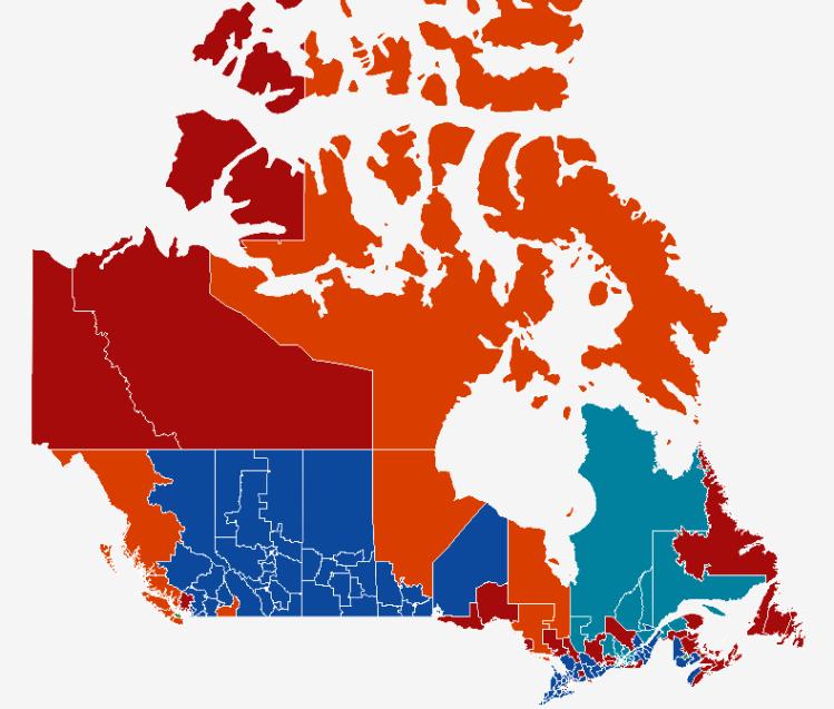 Electoral Map 2019