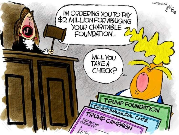 Trump-charity