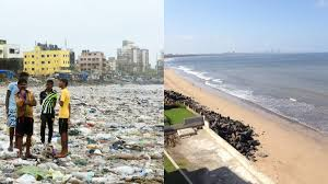 Versova-Beach-before-after