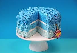 food-blue-cake