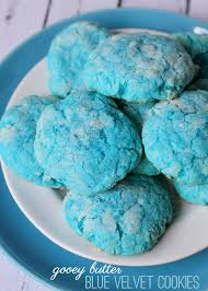 food-blue-cookies