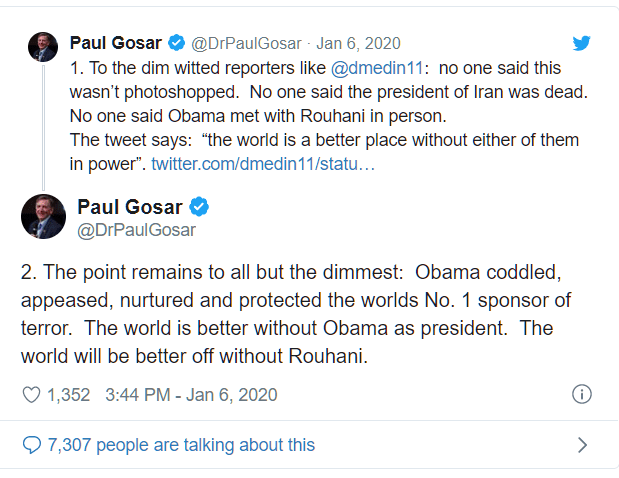 Gosar-tweet