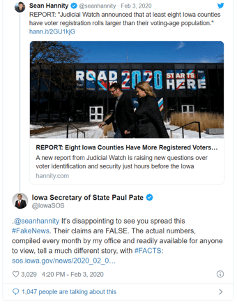 Iowa-Hannity