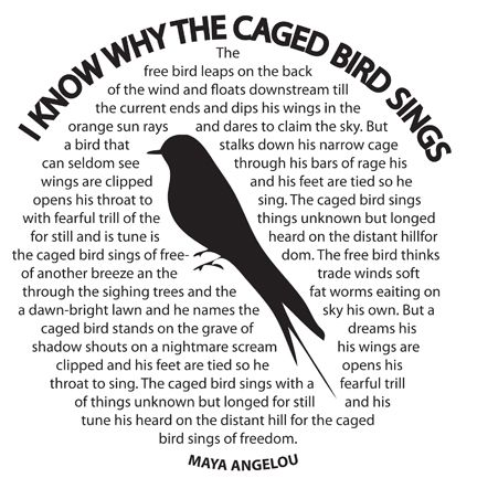 Maya-caged-bird