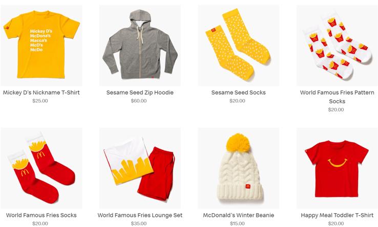 McDonalds-clothes