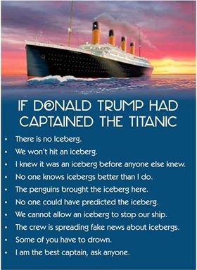 Trump-titanic