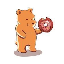 bear-donut