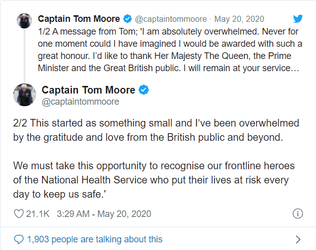 Tom-Moore-tweet