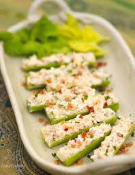 food-stuffed celery