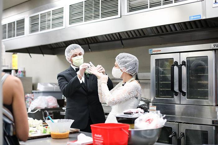 Good People Doing Good Things — Food! Newlyweds-dinner