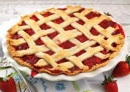 food-strawberry-pie