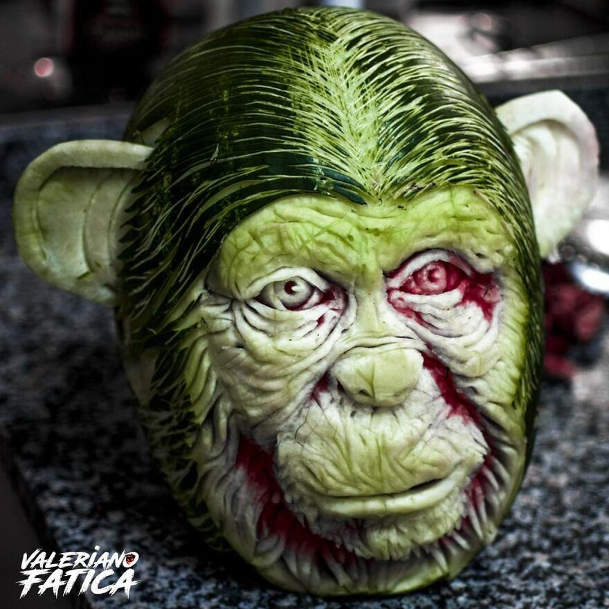 monkey-watermelon