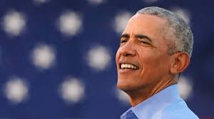 Barak Obama head shot