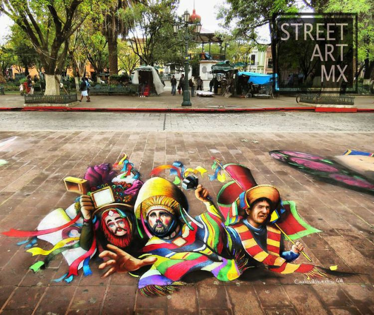 Saturday Surprise — A New Street Artist! Carlos-54
