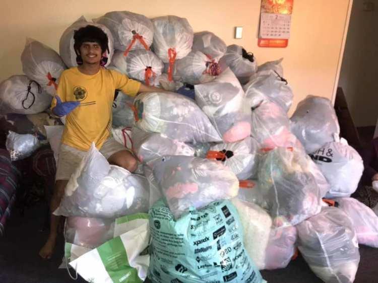 Good People Doing Good Things … Overflowing Love Ashish-dhakal